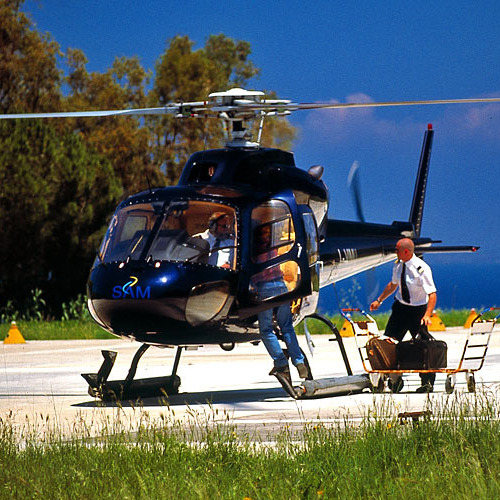 Helicopter fom Versilia to Bolgheri wineries