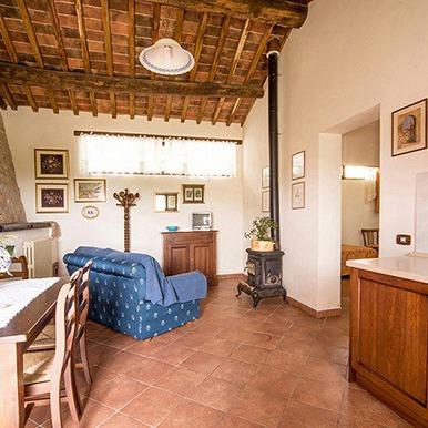 Farmhouse lands of Siena