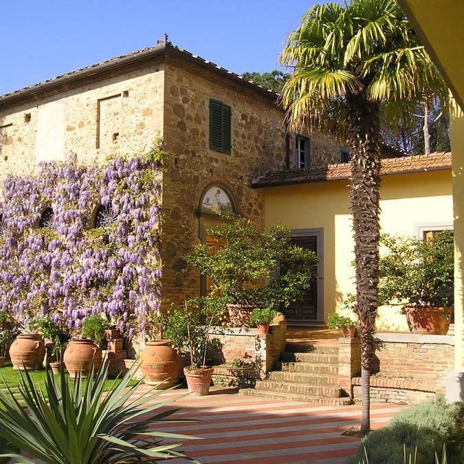 Apartments in wine farmhouse of Chianti